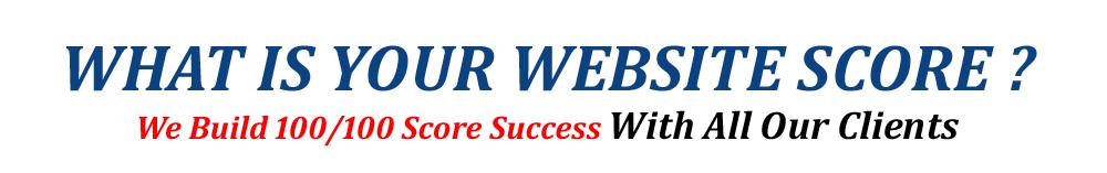 Web Design Score